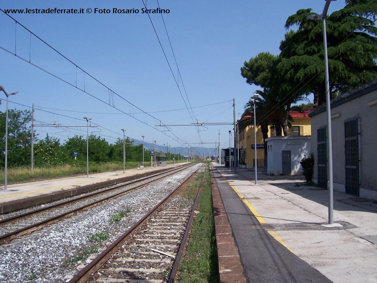 Lestradeferrate.it - Stazione di Cancello - Arnone (CE)