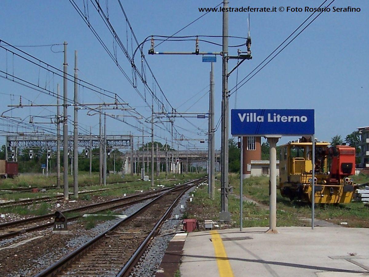 Treno Villa Literno Roma